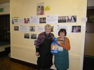 St John's Ladies in front of CAFOD display