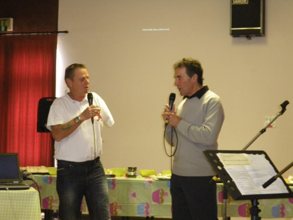 Fred & Mark, a new CAFOD double act