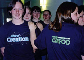 St. Augustine's performed 'Song of Creation' in 2000 for CAFOD