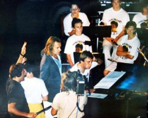 St. Augustine's Choir have sung with Sting in previous decades