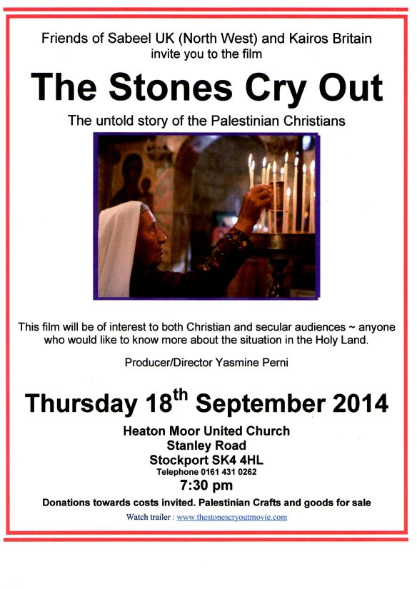 "Film Night ""The Stones Cry Out"""