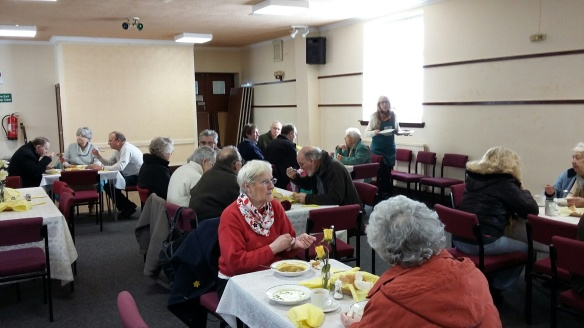 CAFOD Supporters enjoy lunch