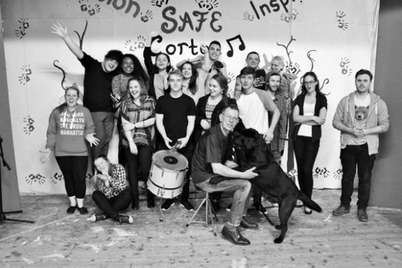 'Safe Ambition' youth singers from Sacred Heart Parish, Gorton, Manchester