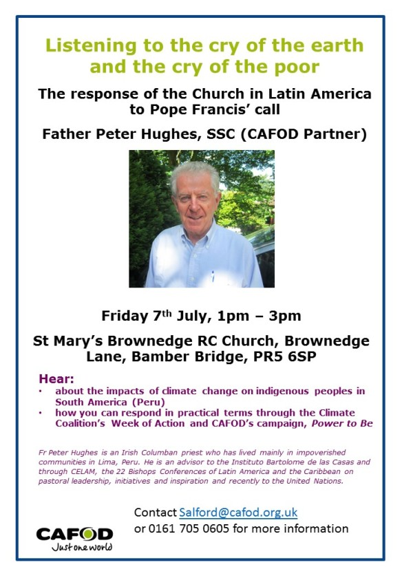 Fr Peter Hughes poster - Copy